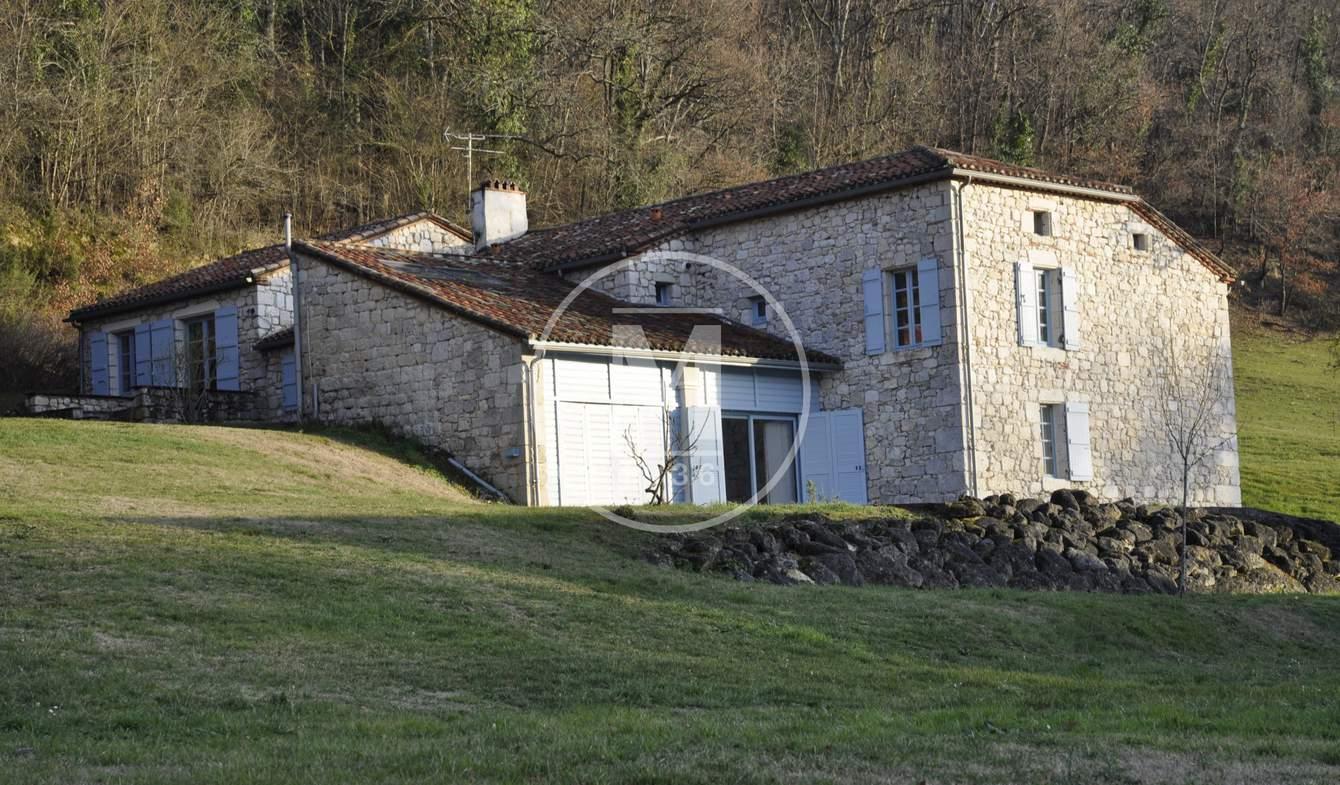 Maison avec piscine et terrasse Laroque-Timbaut