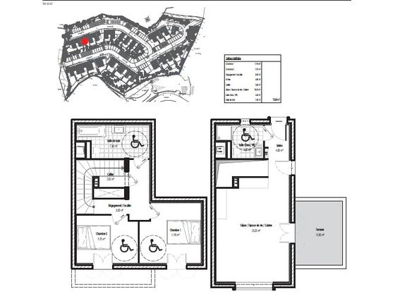 Vente appartement 3 pièces 73,2 m2