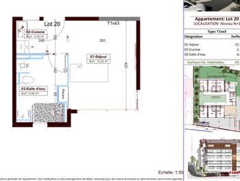 Studio 24,46 m2