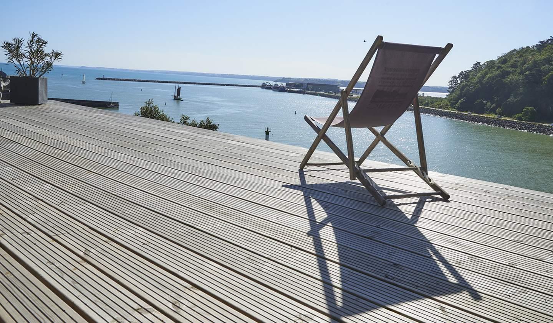 Maison en bord de mer avec terrasse Plerin
