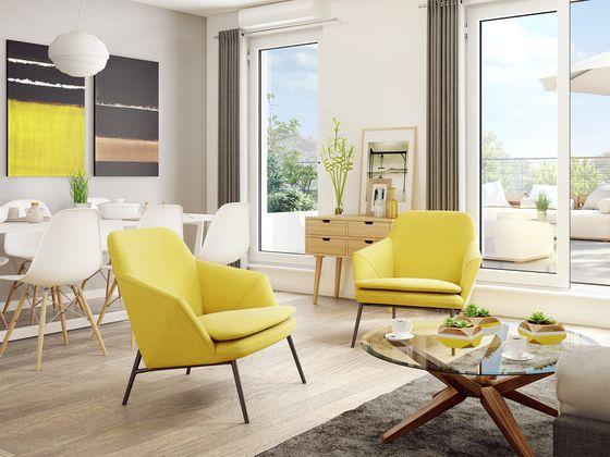 Vente appartement 2 pièces 49,33 m2