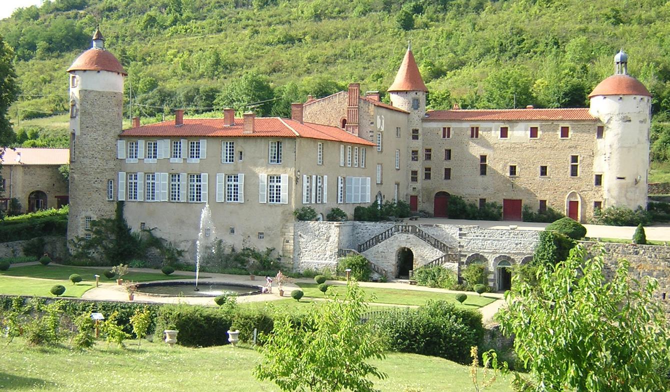 Château classé monument historique Clermont-Ferrand