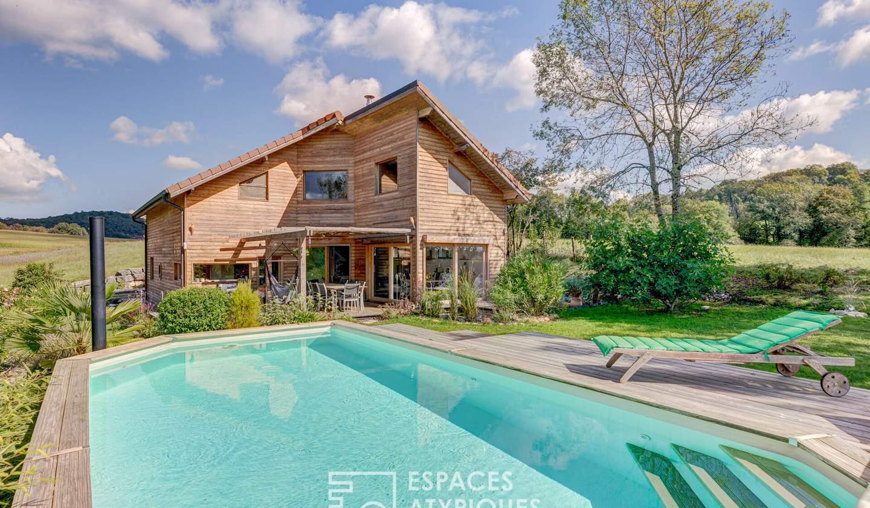 Maison avec piscine et terrasse Chazey-Bons