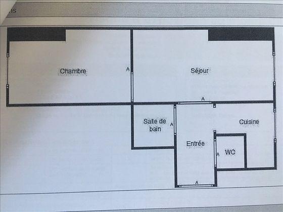 Location appartement 2 pièces 29,2 m2