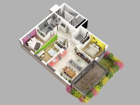 Vente appartement 4 pièces 93,41 m2