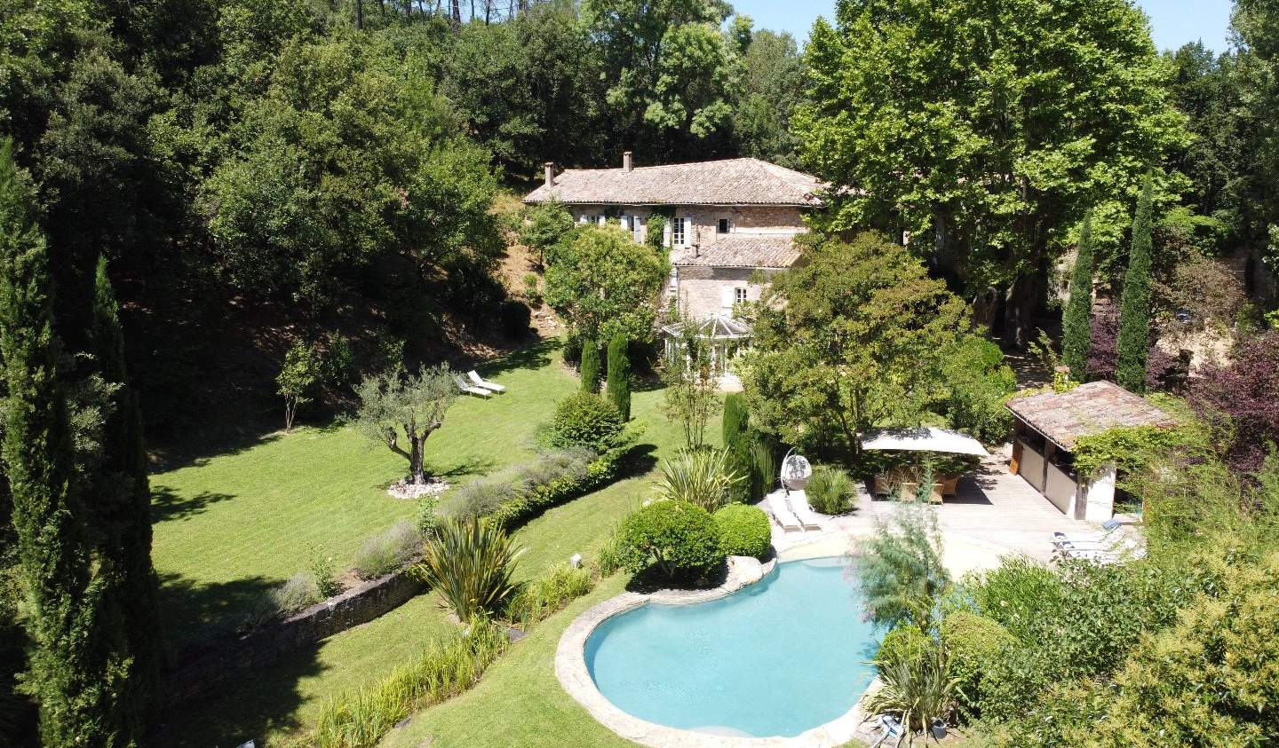 Property with pool and garden Montpellier
