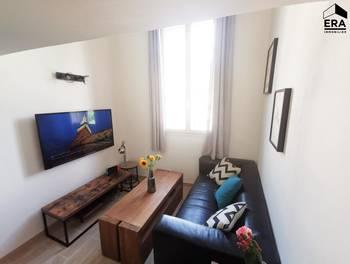 Appartement meublé 3 pièces 38,28 m2