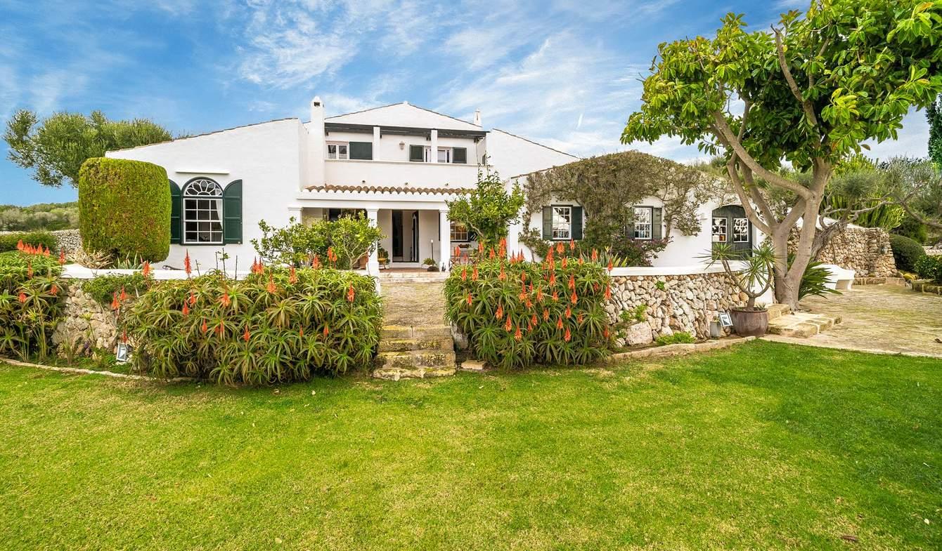 Propriété avec piscine et jardin Port Mahon