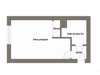 Studio 21,32 m2