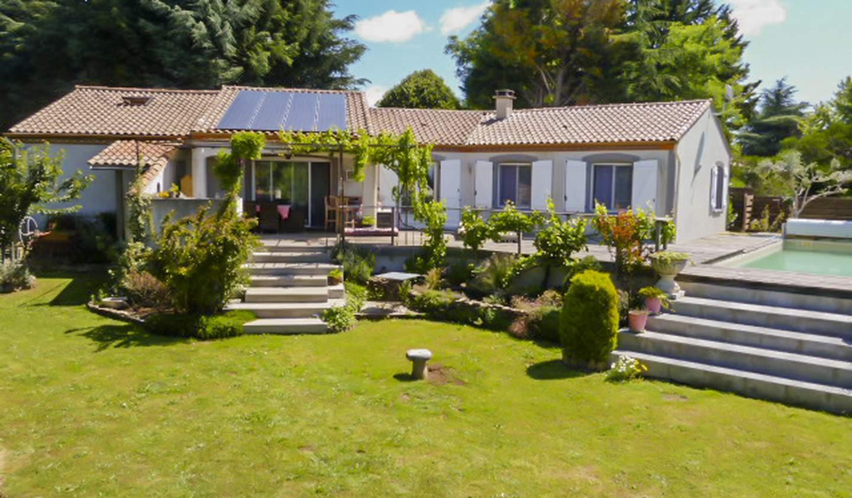 Maison contemporaine avec piscine et jardin Cuxac-Cabardès
