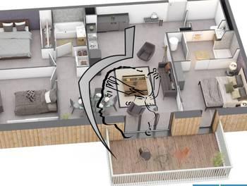 Appartement 4 pièces 89,93 m2