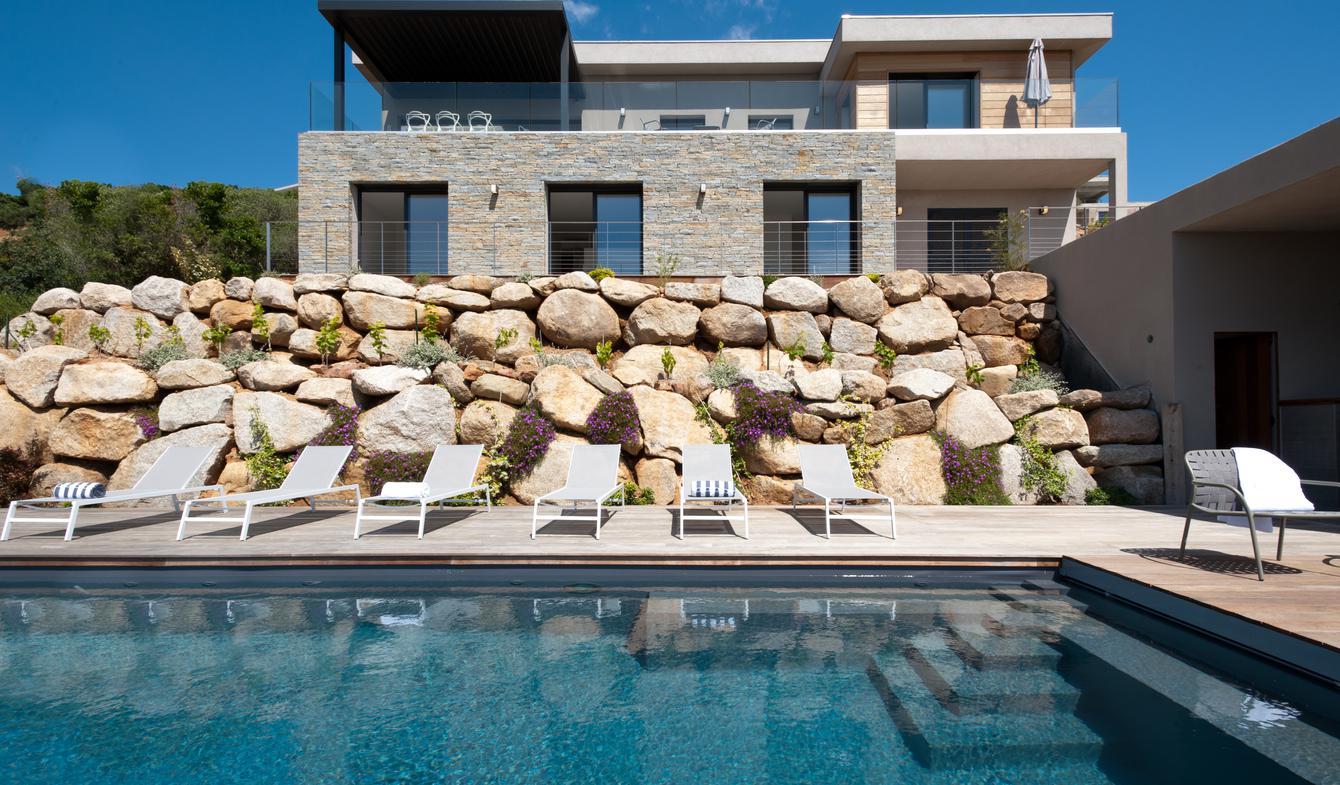 Villa with pool and terrace Porto-Vecchio