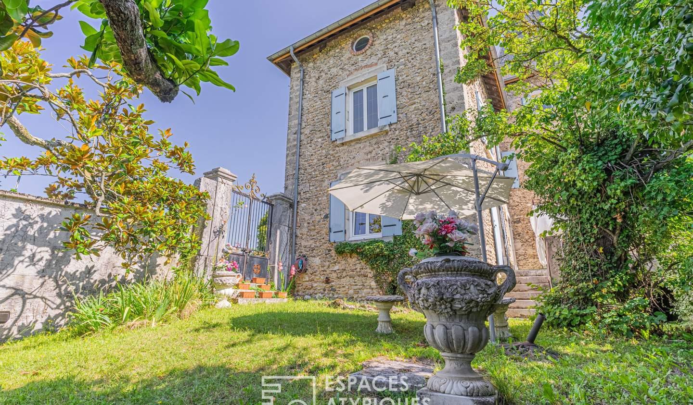 House with terrace Saint-Marcellin