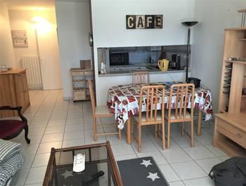 Appartement meublé 2 pièces 57 m2