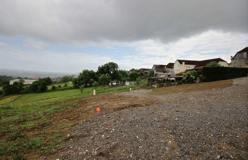 Vente terrain  2735 m² à Lagor (64150), 46 000 €