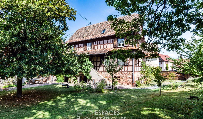 Maison avec terrasse Entzheim