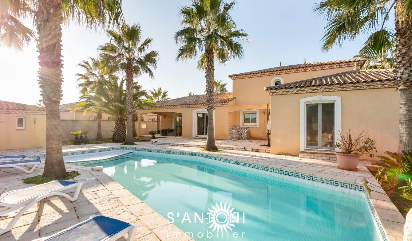 Maison avec piscine et terrasse Marseillan
