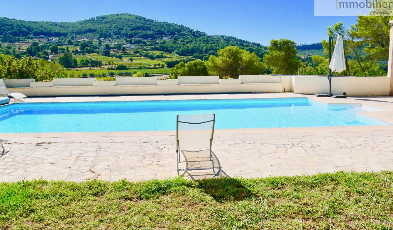 Maison avec piscine et terrasse La Cadière-d'Azur