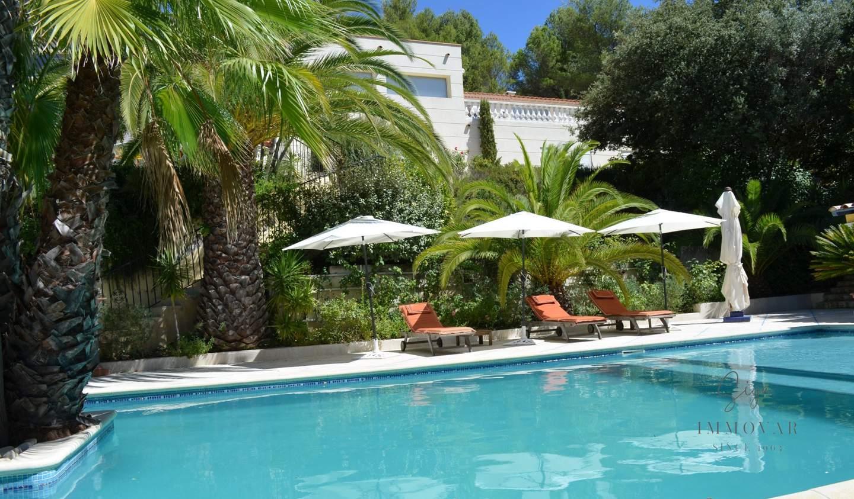 Villa with pool La Cadière-d'Azur