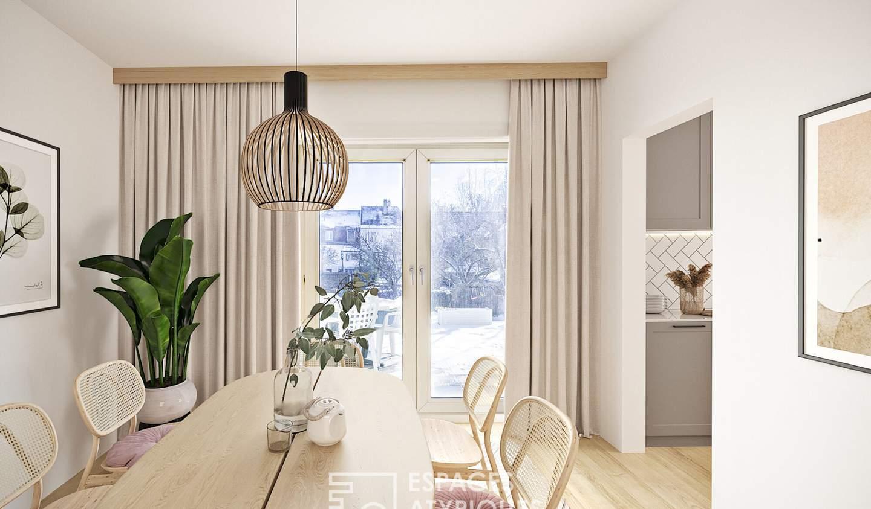 Apartment with terrace Bischheim