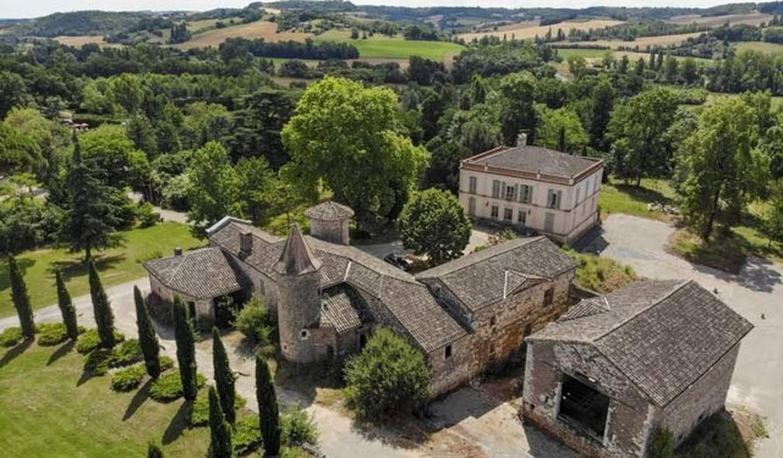 Maison avec piscine et terrasse Castelnau-de-Montmiral