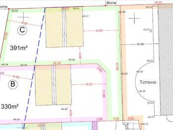 Terrain 391 m2