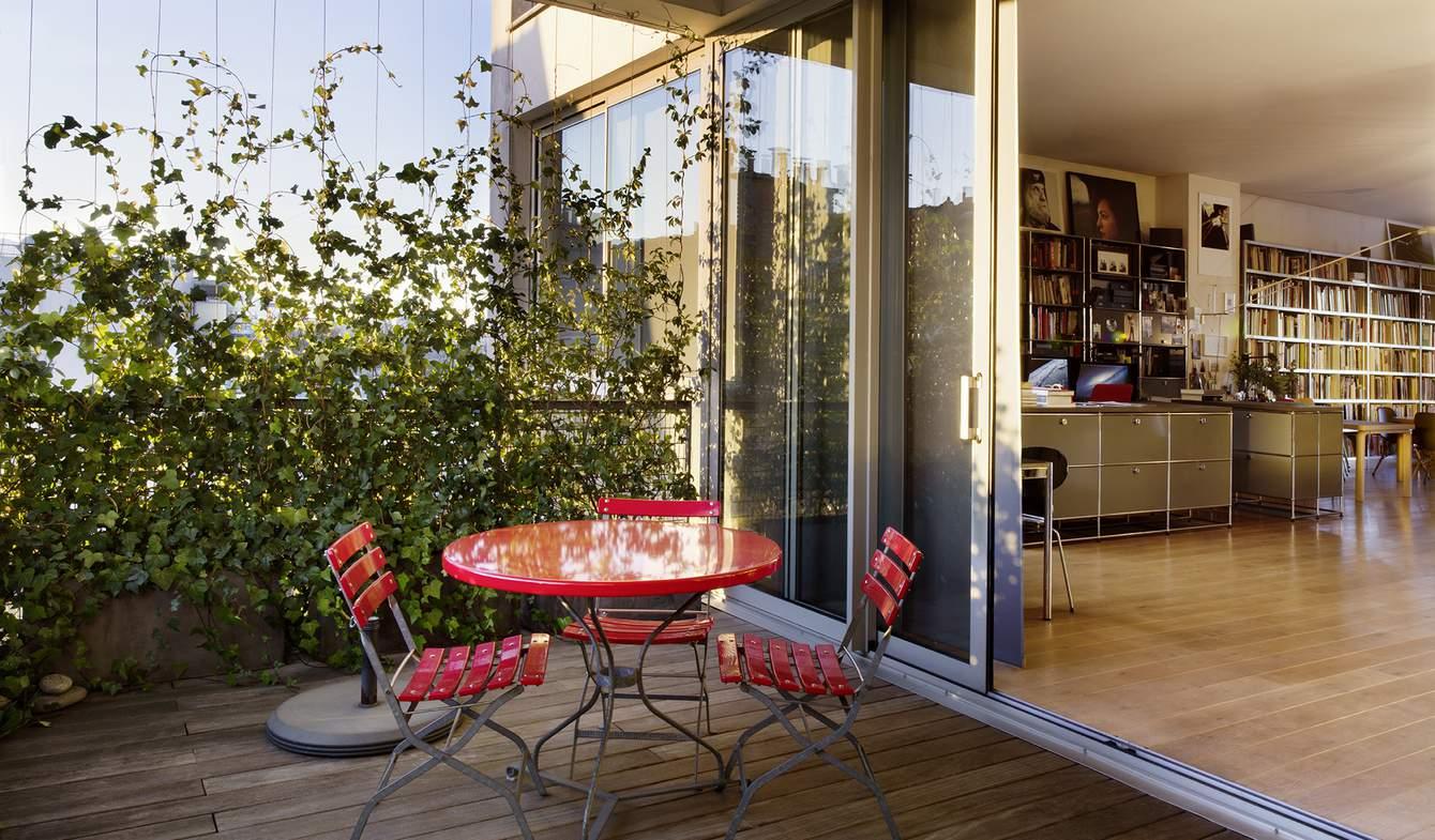 Appartement contemporain avec terrasse Ivry-sur-Seine