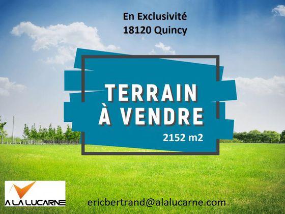 Vente terrain 2152 m2