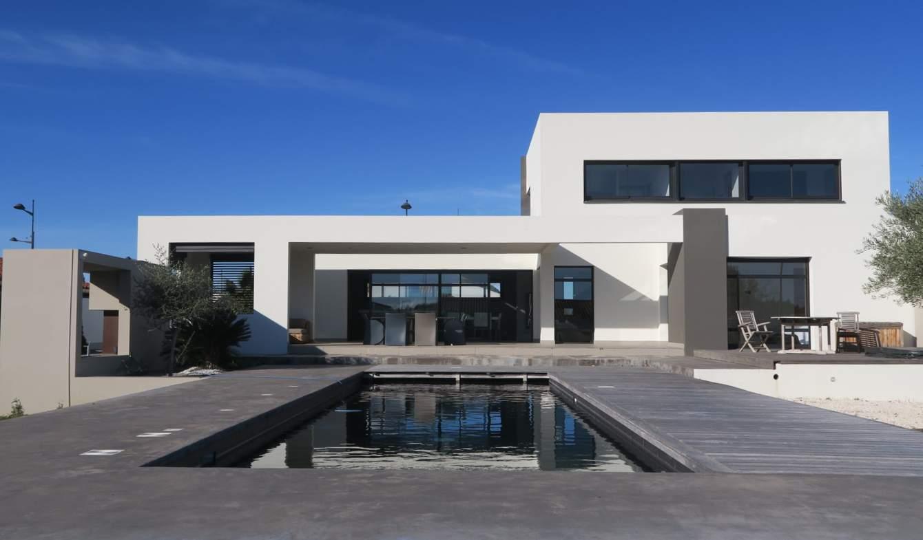 Villa avec piscine et terrasse Pollestres