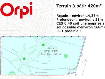 Terrain 420 m2
