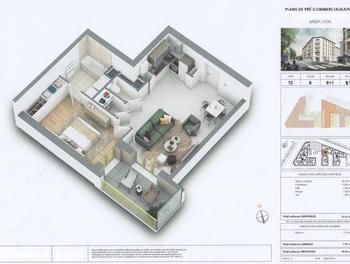 Appartement 2 pièces 47,81 m2