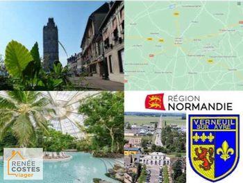 viager à Verneuil-sur-Avre (27)