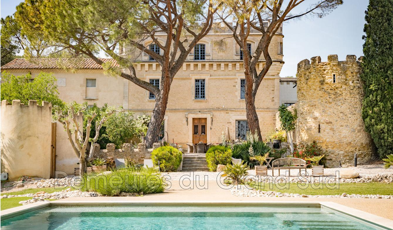 House with pool and terrace Beaumes-de-Venise
