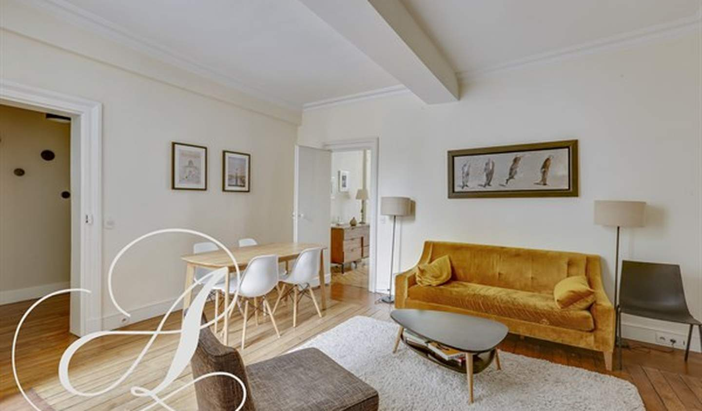 Appartement contemporain Paris 6ème