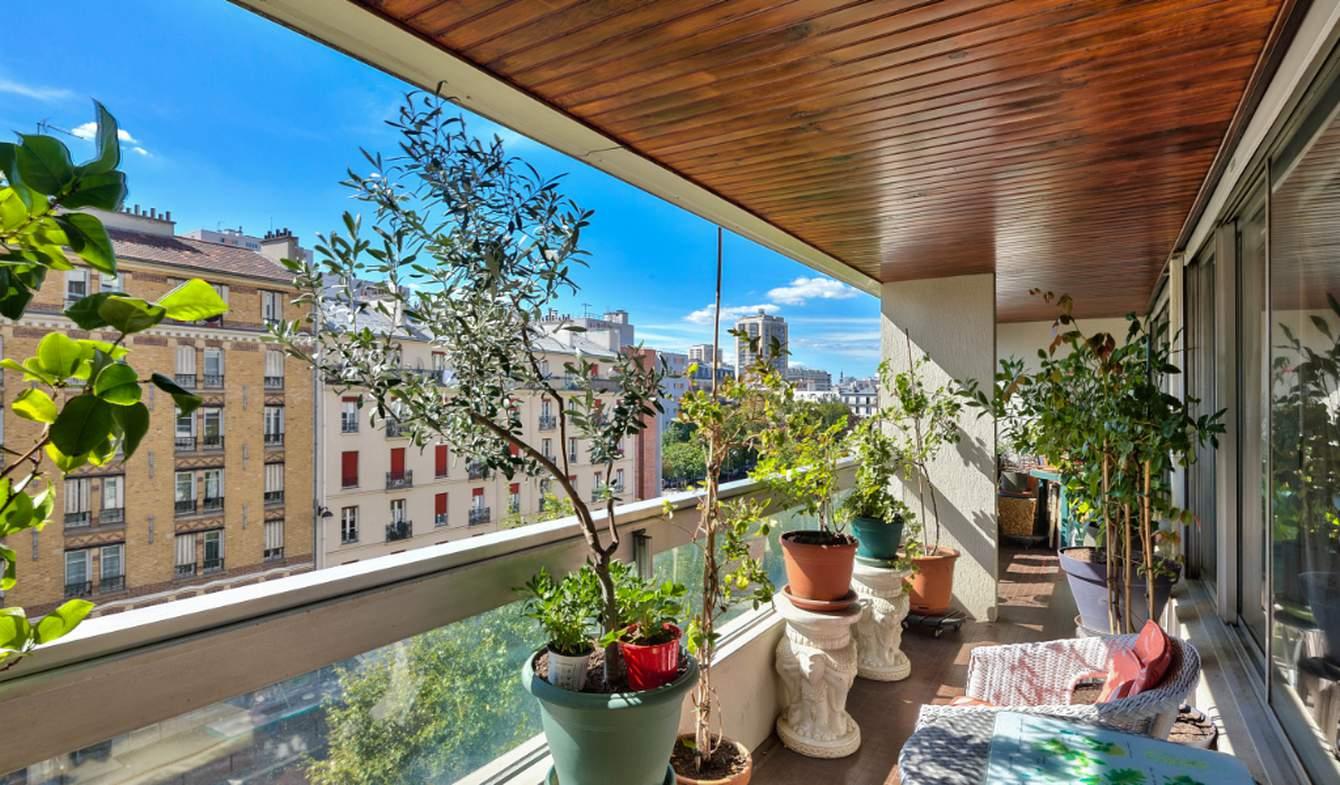 Apartment with terrace Paris 13th