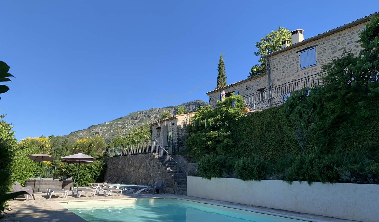 Maison avec piscine et terrasse Toudon
