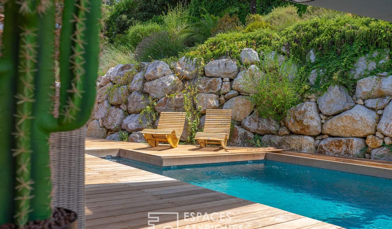 Maison avec piscine et terrasse Argelliers