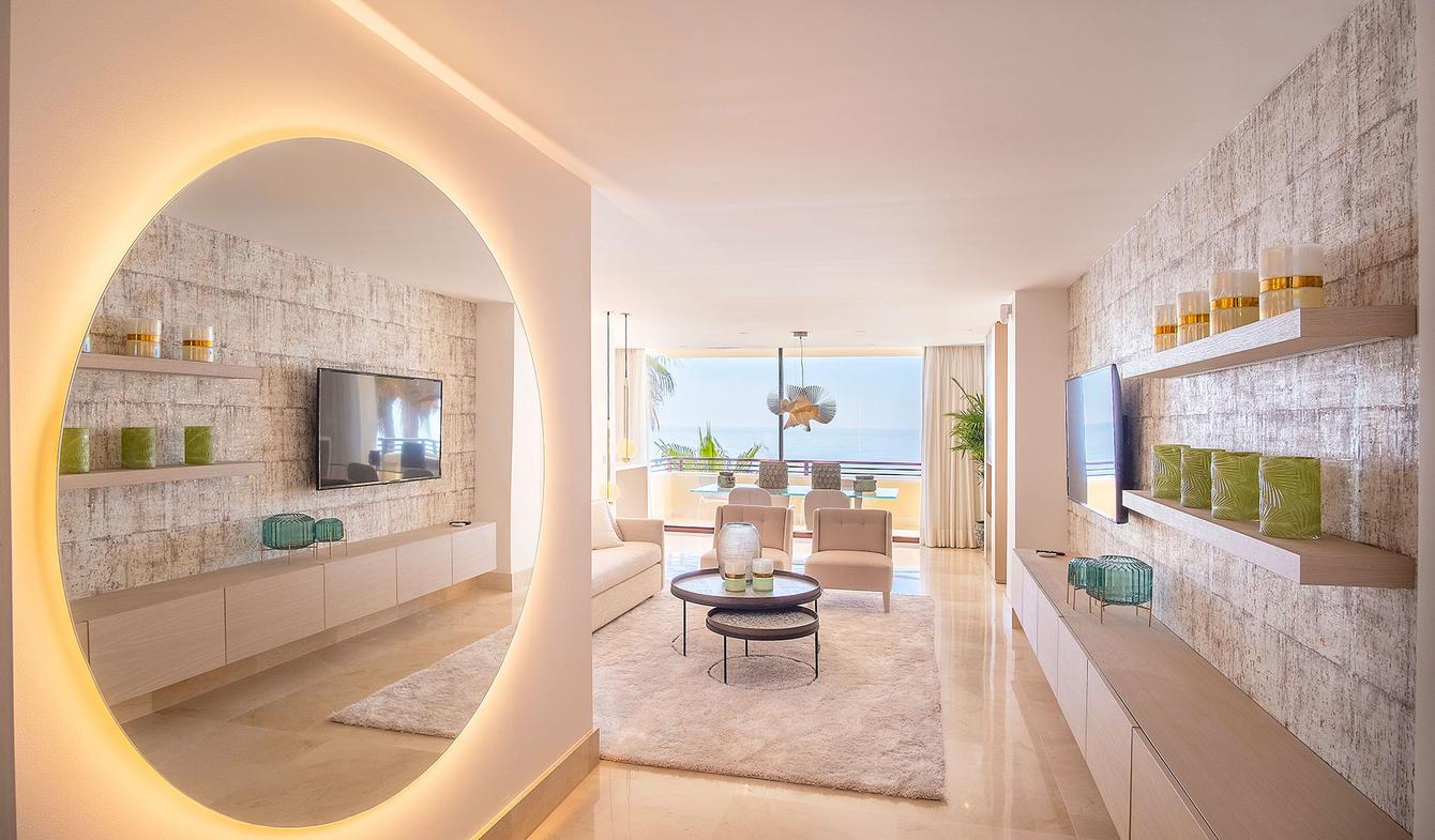Appartement avec terrasse en bord de mer Estepona