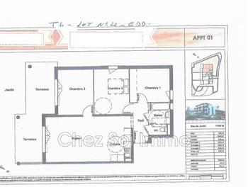 Appartement 4 pièces 76,8 m2