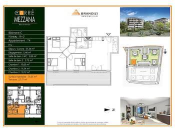 Appartement 4 pièces 79,35 m2