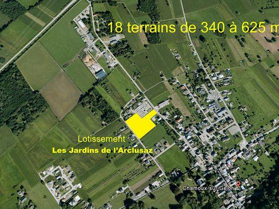 Vente terrain 458 m2