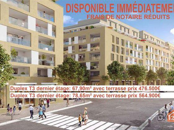 Vente duplex 3 pièces 68 m2