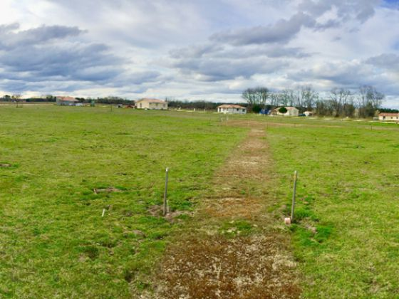 Vente terrain 1284 m2