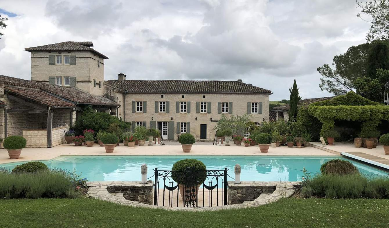 House with pool and terrace Albi