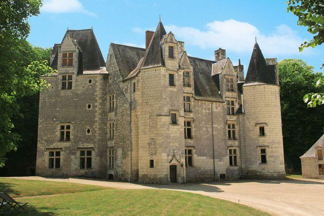 Château Classé Monument Historique, Indre-et-Loire