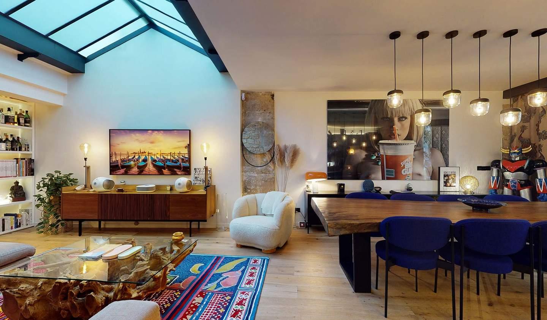 Appartement contemporain Paris 2ème