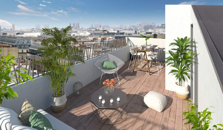 Apartment with terrace Paris 14th