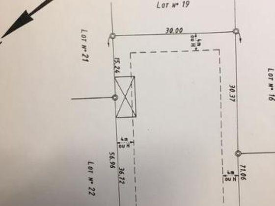 Vente terrain à bâtir 1920 m2