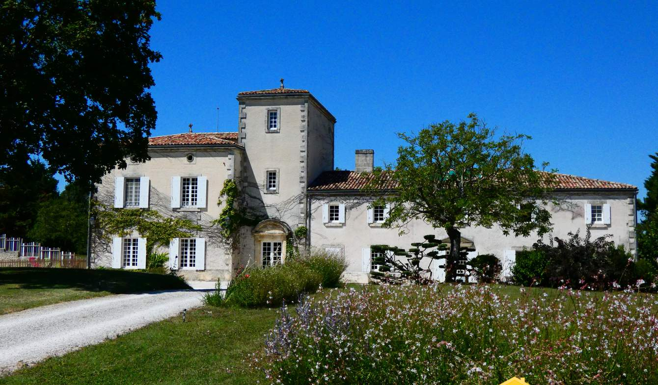 House with pool and terrace Mortagne-sur-Gironde