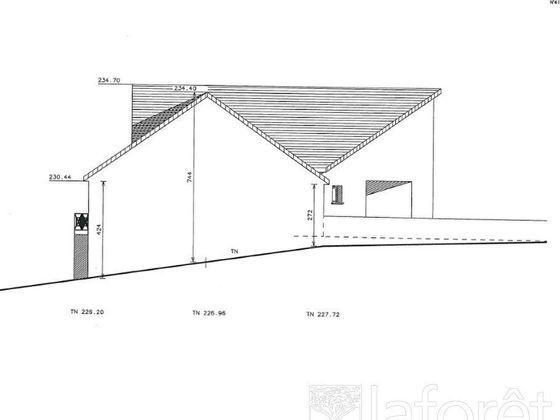 Vente terrain 830 m2